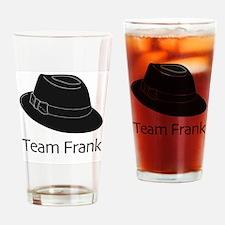 Team Frank Drinking Glass