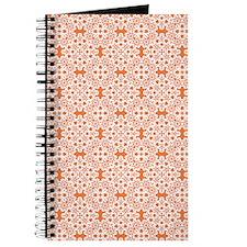 Celosia Orange & White Lace 2 Journal