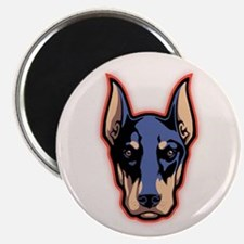 Doberman Face Magnet