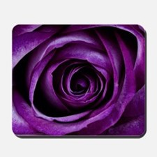 Purple Rose Flower Mousepad