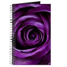 Purple Rose Flower Journal