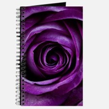 Purple Rose Flower Journal
