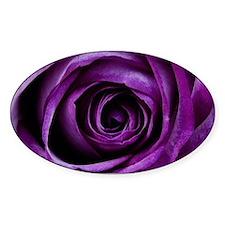 Purple Rose Flower Decal