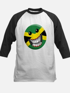 jamaican smile Baseball Jersey