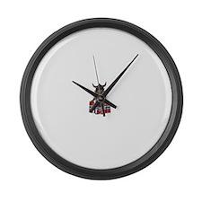 Norwegian Troll Large Wall Clock