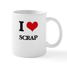 I Love Scrap Mugs