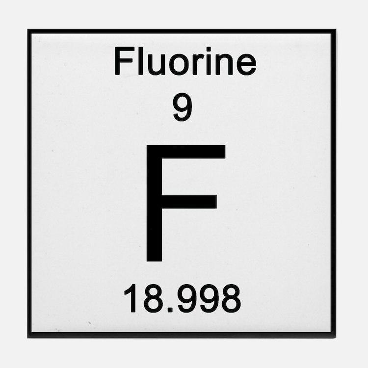 Fluorine Element Coasters