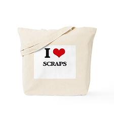 I Love Scraps Tote Bag