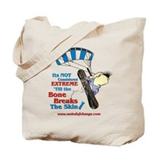 Snow Boarding Tote Bag