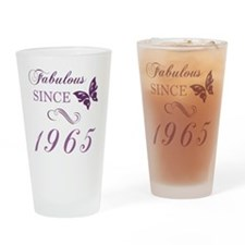1965 Fabulous Birthday Drinking Glass