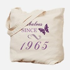 1965 Fabulous Birthday Tote Bag