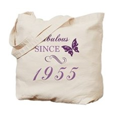 1955 Fabulous Birthday Tote Bag
