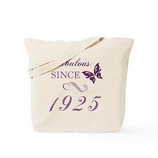 1925 Fabulous Birthday Tote Bag