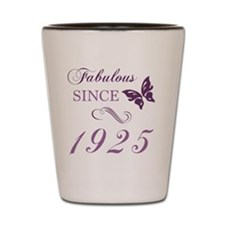 1925 Fabulous Birthday Shot Glass