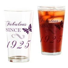 1925 Fabulous Birthday Drinking Glass