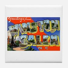 Winston-Salem North Carolina Tile Coaster