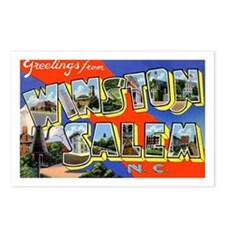 Winston-Salem North Carolina Postcards (Package of