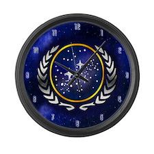 Star Trek Federation Gold Large Wall Clock