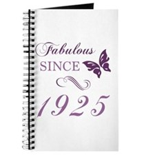 1925 Fabulous Birthday Journal