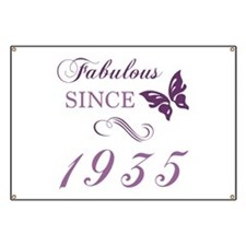 1935 Fabulous Birthday Banner