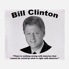 Clinton: America Throw Blanket