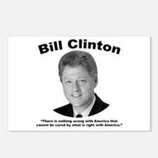 Clinton: America Postcards (Package of 8)