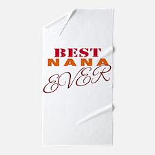 Best Nana Ever Beach Towel