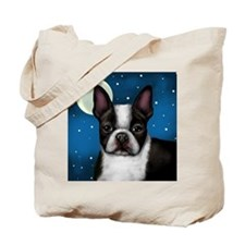 Boston Terrier Moon.png Tote Bag