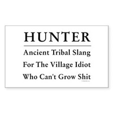 Hunter Decal