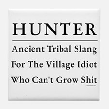 Hunter Tile Coaster