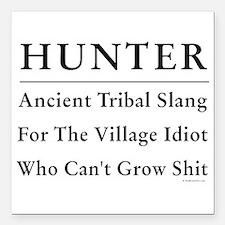 """Hunter Square Car Magnet 3"""" x 3"""""""