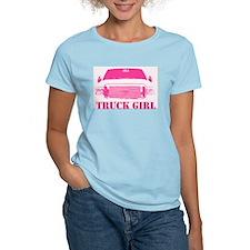 Truck Girl Pink 4x4 T-Shirt