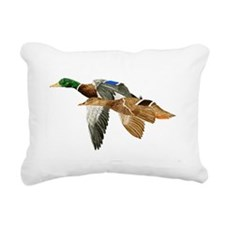 Mallards Rectangular Canvas Pillow