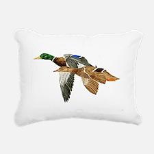 Mallards Rectangular Canvas Pillow