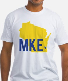 MKE Blue & Yellow Shirt