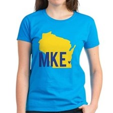 MKE Blue & Yellow Tee