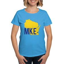 MKE Blue & Yellow Tee