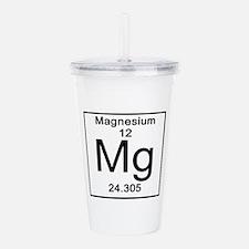 12. Magnesium Acrylic Double-wall Tumbler