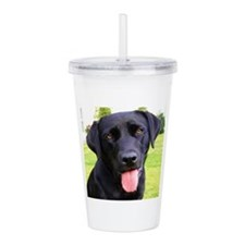 Black Lab Acrylic Double-wall Tumbler