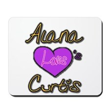 Alana Loves Curtis MousePad