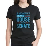 Hillary clinton funny Women's Dark T-Shirt