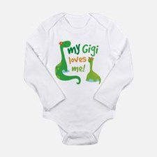 Gigi Loves Me Long Sleeve Infant Bodysuit