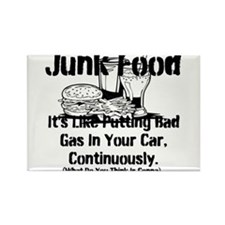 Funny Junk food Rectangle Magnet (10 pack)