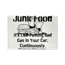 Cute Junk food Rectangle Magnet (10 pack)