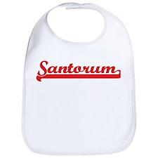 Santorum (retro-sport-red) Bib
