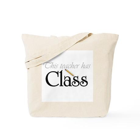 Teacher Has Class Tote Bag