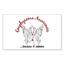 Emphysema Butterfly 6.1 Decal