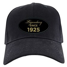 1925 Legendary Birthday Baseball Hat