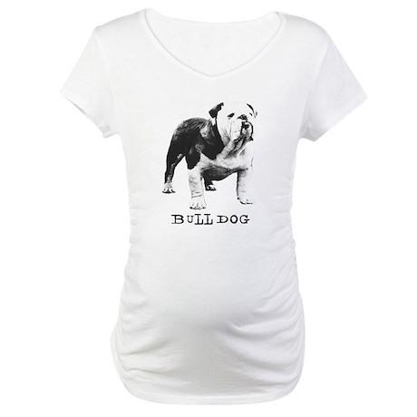 Bulldog Greats Goober Maternity T-Shirt