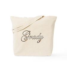 Gold Grady Tote Bag